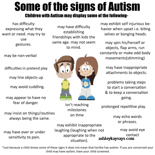 autism signs