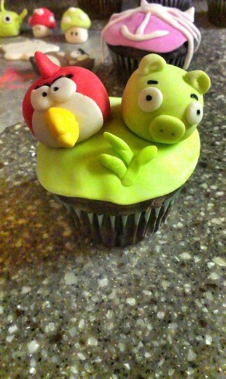 Angry Birds on Chocolate