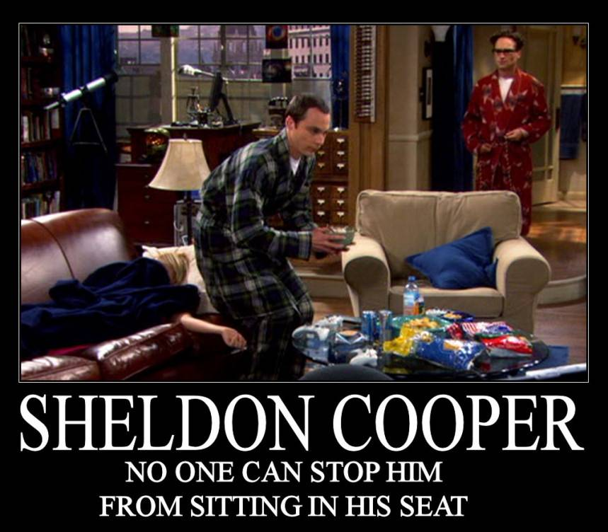 Sheldon Cooper – Roc...