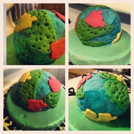 Cakes I made for an Autism Awareness Fundraiser