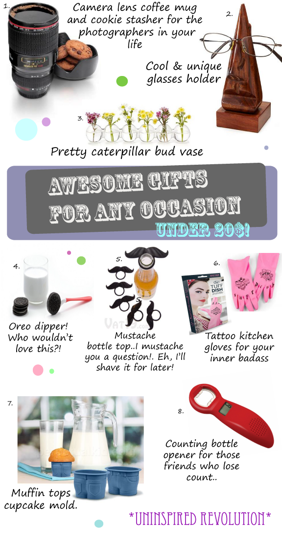 cool unique awesome gift ideas