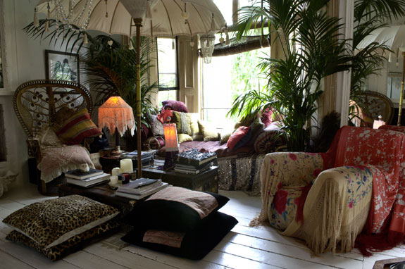 Hippy style decor