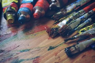 paints-stock-photo
